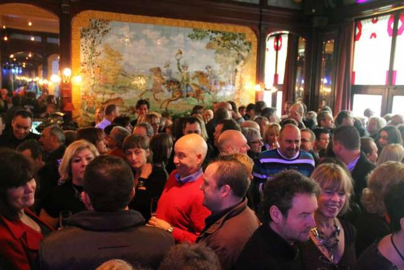 Discretie in brasserie Harmonie te Ronse